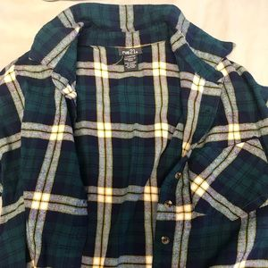 Rue21 Cropped Flannel